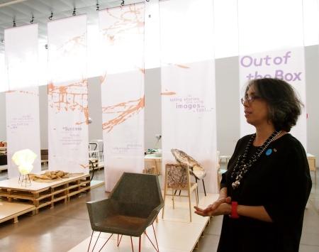 Galit Gaon, jefa de conservación del Design Museum Holon