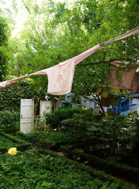 Espacio para el relax en el patio de la Casa Museo Lope de Vega, por Davidedavid-PDM