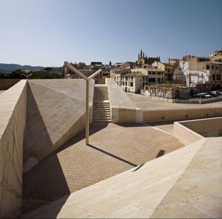 Intervención en las murallas de Palma